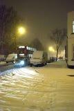 Neve em Londres Fotografia de Stock