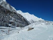Neve em montes Fotografia de Stock