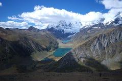 Neve em Peru Imagens de Stock