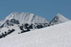 Neve em Pyrenees Imagem de Stock