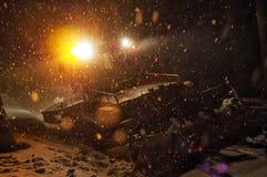 Neve in Europa fotografia stock libera da diritti