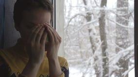 Neve fora do indicador vídeos de arquivo