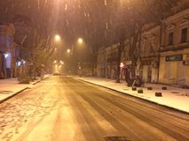 Neve fresca Fotos de Stock