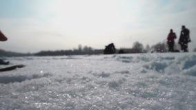 Neve fresca macia vídeos de arquivo