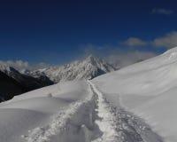 Neve in Italia Immagini Stock Libere da Diritti