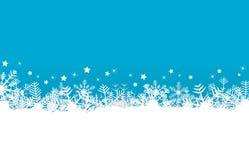 A neve lasc fundo Imagem de Stock Royalty Free