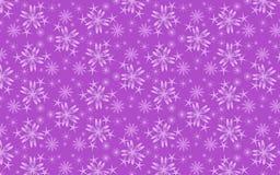 A neve lilás alegre lasca-se teste padrão sobre o fundo malva ilustração stock