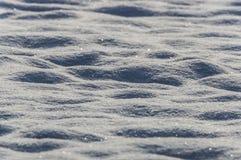 Neve macia pura imagem de stock royalty free