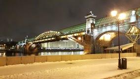 Neve Mosca Russia fotografie stock libere da diritti