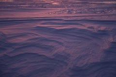 Neve na luz do sol Imagens de Stock