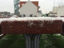 Neve na tabela do banco foto de stock