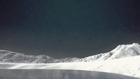 Neve nell'Artide Immagine Stock