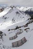 neve nelle alpi Immagine Stock Libera da Diritti