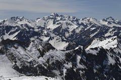 neve nelle alpi Fotografia Stock Libera da Diritti