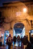 Neve no bazar grande de Istambul Fotografia de Stock Royalty Free
