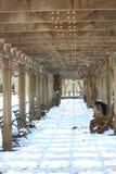 Neve no Central Park Imagens de Stock Royalty Free