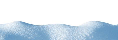 Neve no fundo branco fotografia de stock