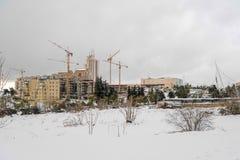 Neve no Jerusalém Fotos de Stock