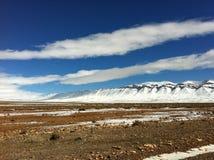 Neve no Sahara Fotos de Stock