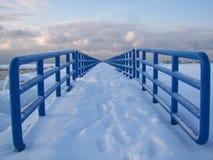 Neve onde Imagem de Stock Royalty Free