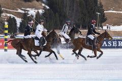 Neve Polo Cup Sankt 2017 Moritz Imagens de Stock