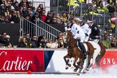 Neve Polo Cup Sankt 2017 Moritz Fotografia de Stock Royalty Free
