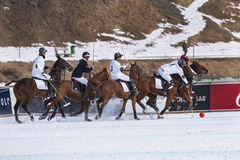 Neve Polo Cup Sankt 2017 Moritz Foto de Stock
