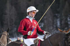 Neve Polo Cup Sankt 2017 Moritz Imagem de Stock Royalty Free