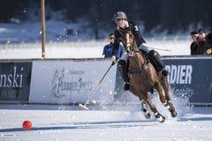 Neve Polo World Cup Sankt Moritz 2016 Foto de Stock