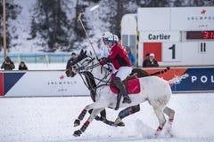 Neve Polo World Cup Sankt Moritz 2016 Fotos de Stock