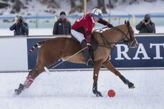 Neve Polo World Cup Sankt Moritz 2016 Imagem de Stock