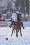 Neve Polo World Cup Sankt Moritz 2016 Imagens de Stock