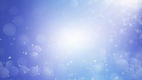 Neve realistica in 4K Priorità bassa astratta di inverno illustrazione vettoriale