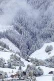 Neve recentemente caduta Immagine Stock Libera da Diritti