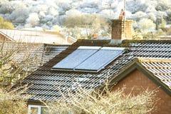 Neve solare immagini stock libere da diritti