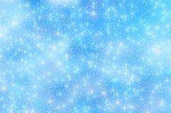 A neve Stars o fundo 11 do Natal Fotografia de Stock Royalty Free