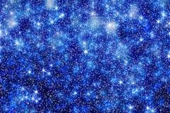 A neve Stars o fundo 7 do Natal Imagens de Stock Royalty Free