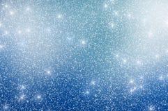 A neve Stars o fundo 6 do Natal Fotografia de Stock