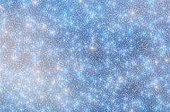 A neve Stars o fundo 2 do Natal Foto de Stock Royalty Free