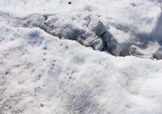 Neve suja imagens de stock royalty free