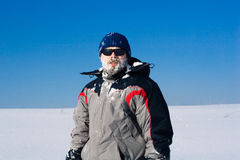 Neve sul fronte Immagine Stock Libera da Diritti