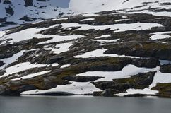 Neve sulle colline Immagine Stock Libera da Diritti