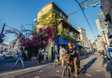 Neve Tzedek w Tel Aviv Fotografia Stock