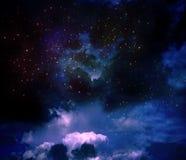 Nevel in de zodiacal constellatie van Archer stock foto's