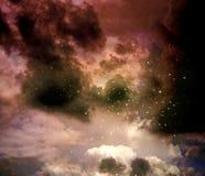 Nevel in de zodiacal constellatie van Archer royalty-vrije stock afbeelding