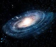 Nevel en melkwegen in ruimte Elementen van dit die beeld door NASA wordt geleverd stock foto