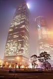 Nevel en stof in Shanghai China Royalty-vrije Stock Fotografie
