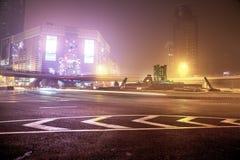 Nevel en stof in Shanghai China Royalty-vrije Stock Afbeeldingen