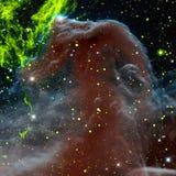 Nevel in Kosmische ruimte Elementen van dit die beeld door NASA wordt geleverd stock illustratie