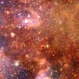 Nevel in Kosmische ruimte Elementen van dit die beeld door NASA wordt geleverd stock foto